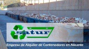 alquiler de contenedores en Alicante