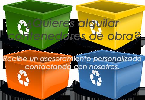 alquilar contenedores de obra en Alicante