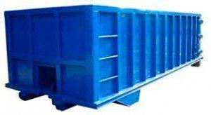 Cómo encontrar contenedores para resíduos amplios