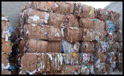 residuos de cartón