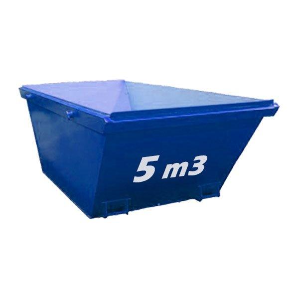 Contenedor para residuos industriales en Alicante de 2m3