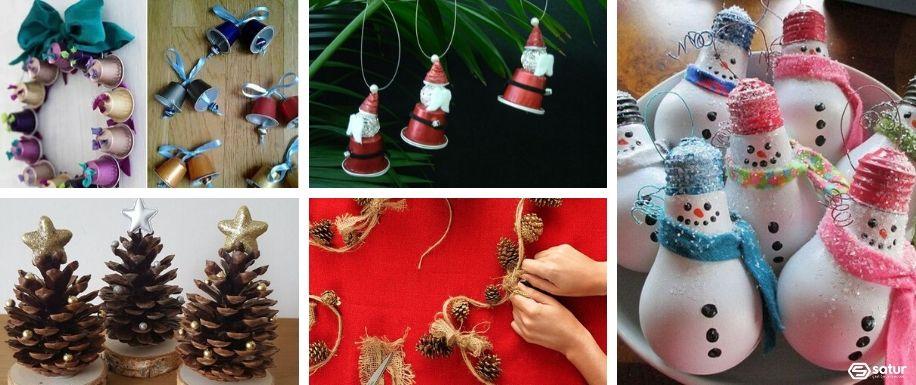 Navidad con reciclaje