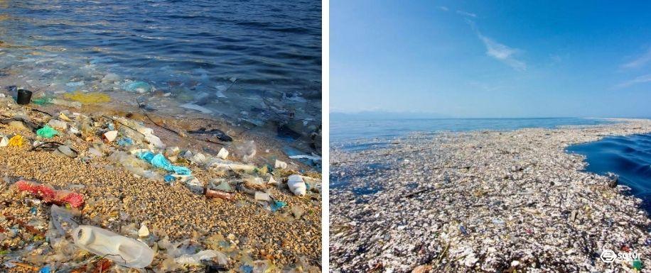 las islas de basura y sus problemas