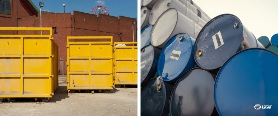Existen diferentes tipos de carga en contenedores